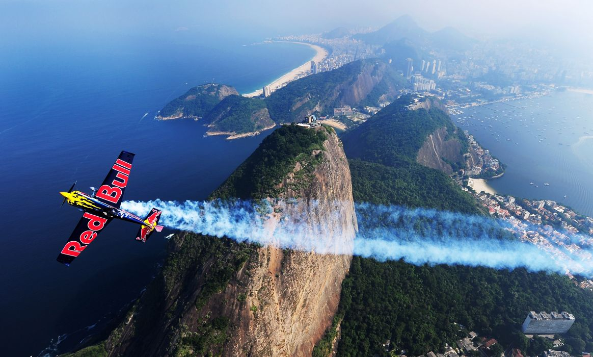 RED-BULL-AIR-RACE airplane plane race racing red bull aircraft  d wallpaper
