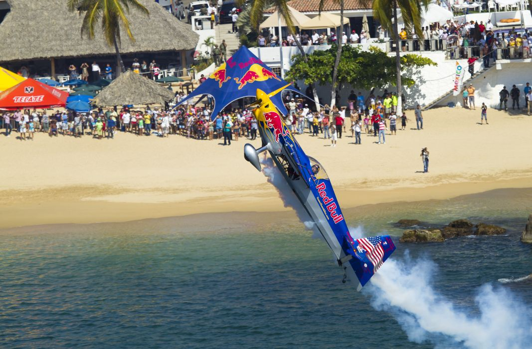 RED-BULL-AIR-RACE airplane plane race racing red bull aircraft  ff wallpaper