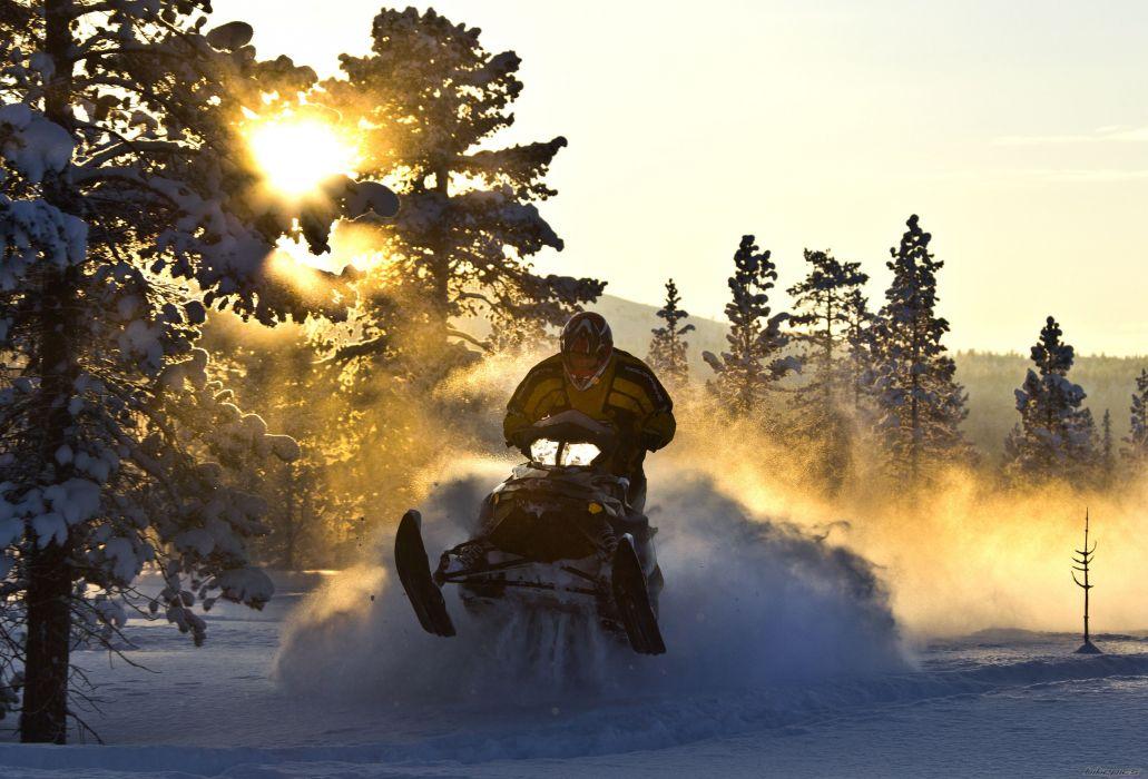 SKI-DOO MXZ Turbo Sno Pro snowmobile winter ski doo    e wallpaper
