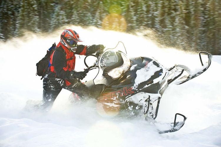 snowmobile winter snow gs wallpaper