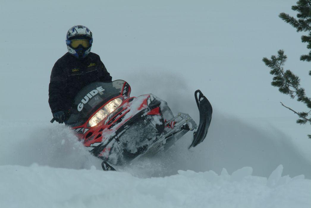 snowmobile winter snow    g wallpaper