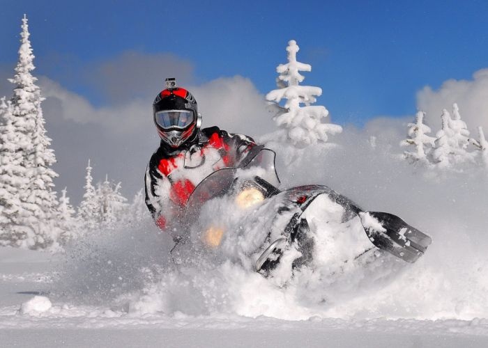 snowmobile winter snow t wallpaper