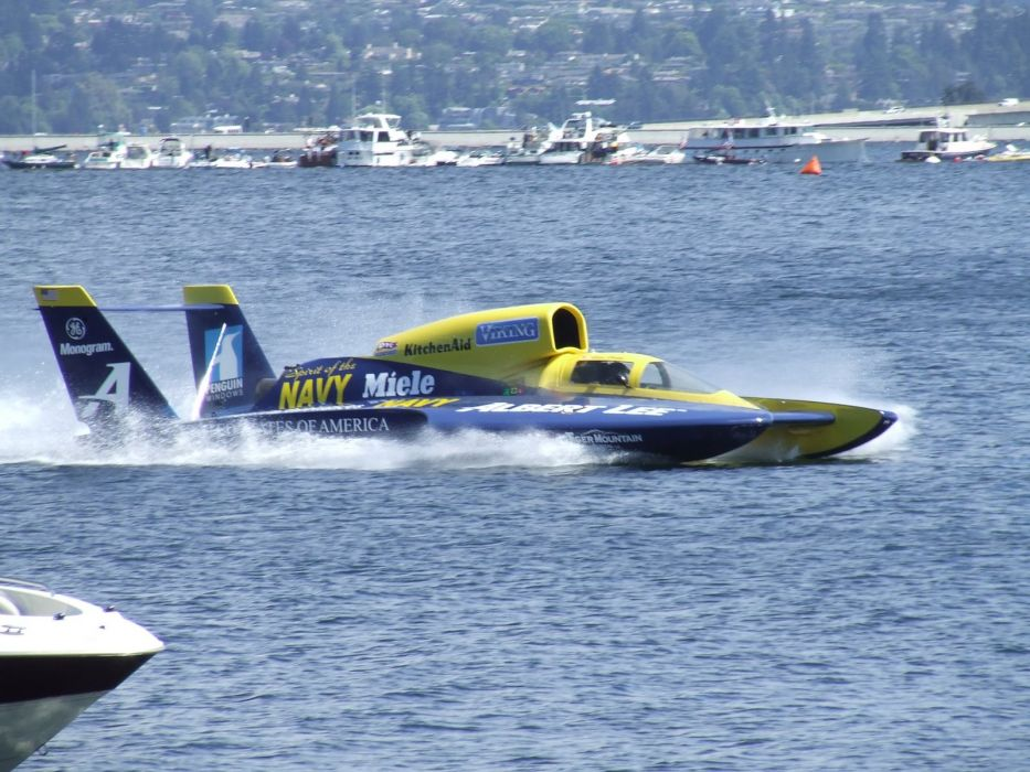 UNLIMITED-HYDROPLANE race racing jet hydroplane boat ship hot rod rod   r3 wallpaper