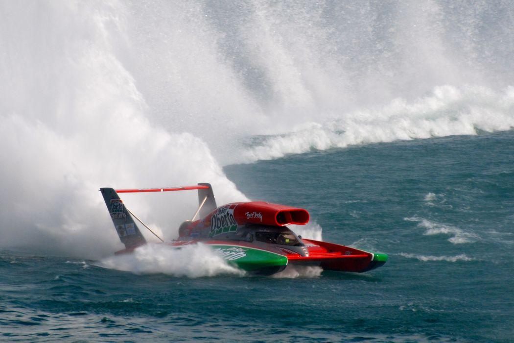 UNLIMITED-HYDROPLANE race racing jet hydroplane boat ship hot rod rod  f wallpaper