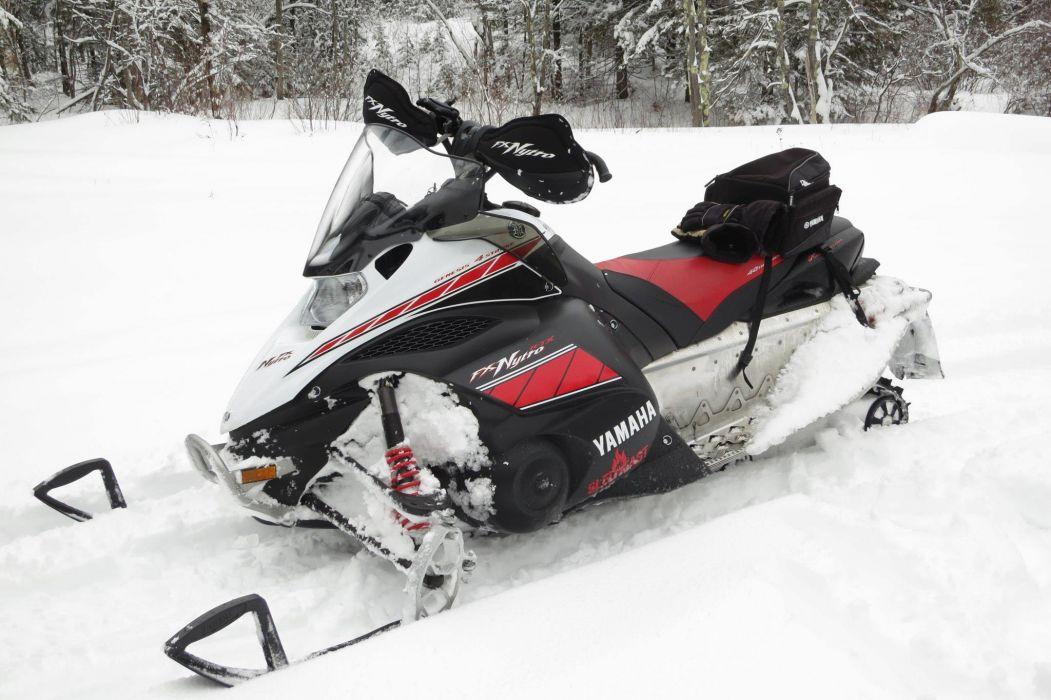 YAMAHA NYTRO snowmobile winter sled snow     rf wallpaper