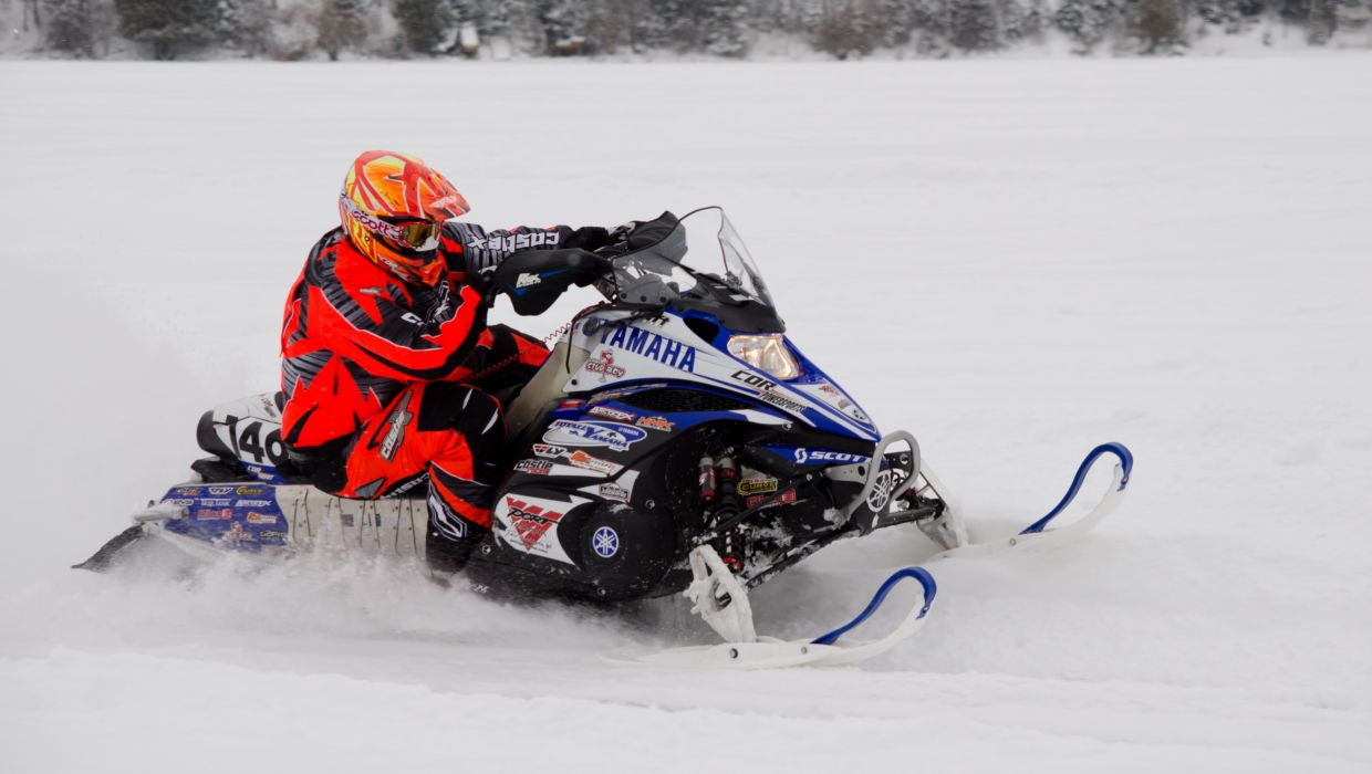 YAMAHA NYTRO snowmobile winter sled snow     t wallpaper