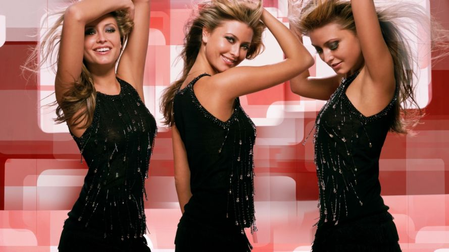 Holly Valance blonde actress g wallpaper