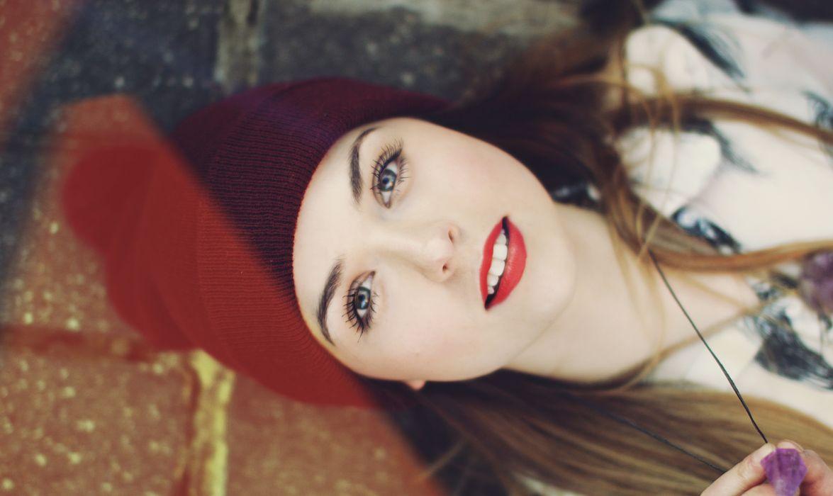 makeup face girl mood fashion style      f wallpaper