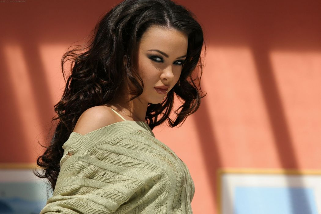 Natalia Cruze girl brunette porn actress wallpaper