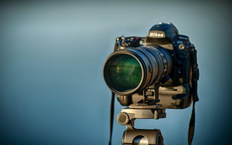 Nikon Camera camera tripod reflection h wallpaper