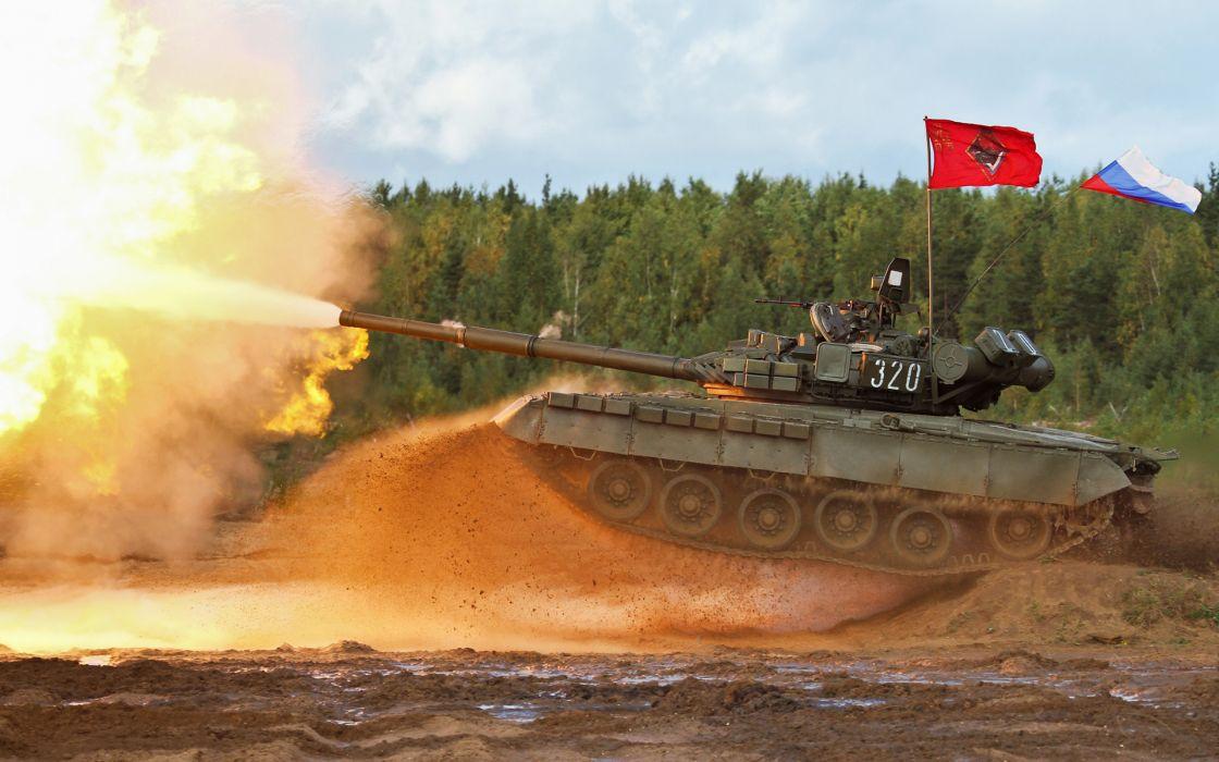 Russia t-80 bc shot MBT Tank   d wallpaper