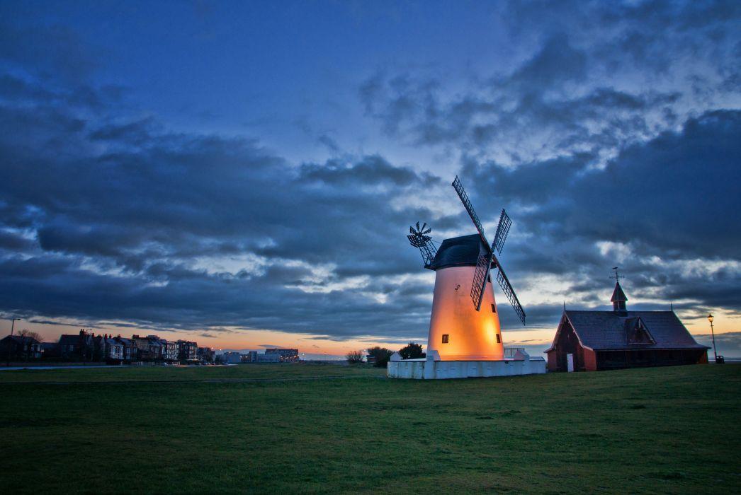 village England UK wjindmill mill farm       g wallpaper