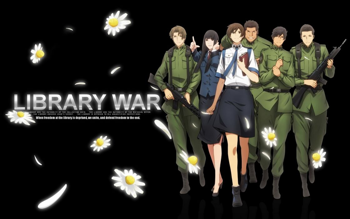 anime Library War wallpaper