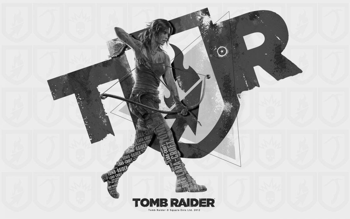 Tomb Raider reboot Lara Croft Square Enix bow (weapon) Game Art wallpaper