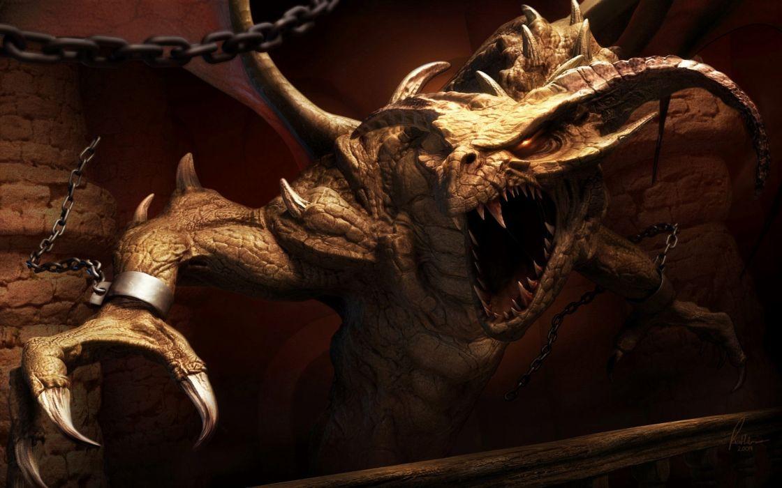 fantasy dragons wallpaper