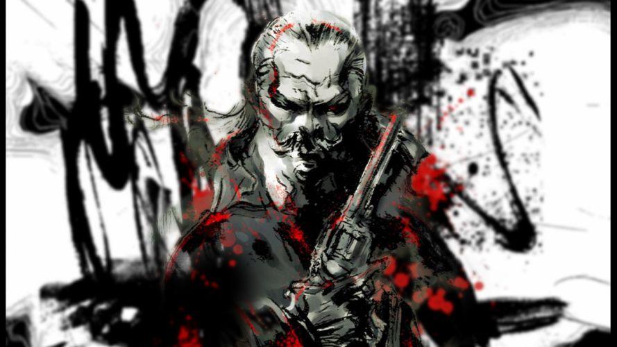 video games Metal Gear Solid Revolver Ocelot wallpaper