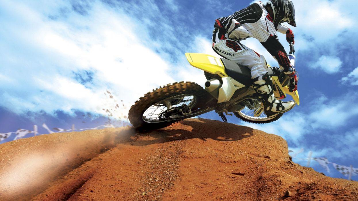 bike crazy motocross motorbikes wallpaper