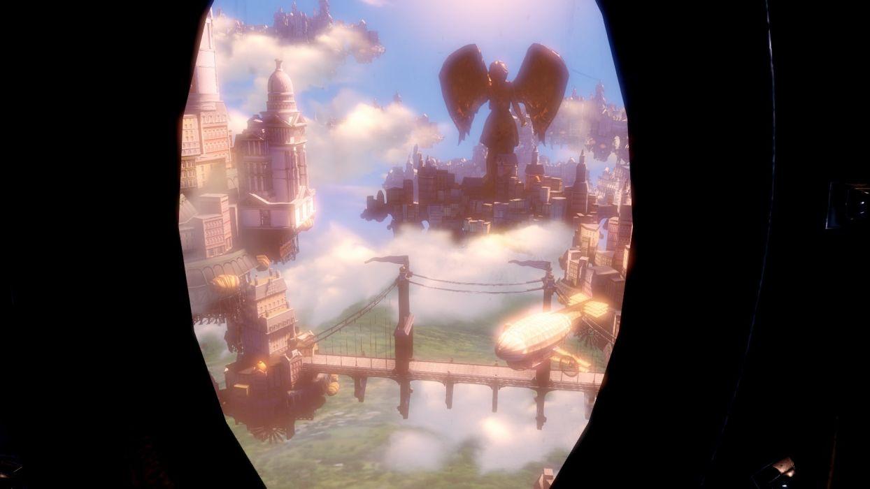 video games computers BioShock screenshots Bioshock Infinite wallpaper