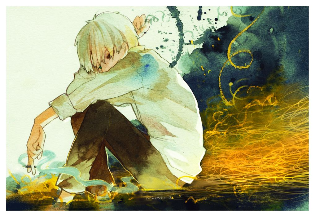 Mushishi Ginko     f wallpaper