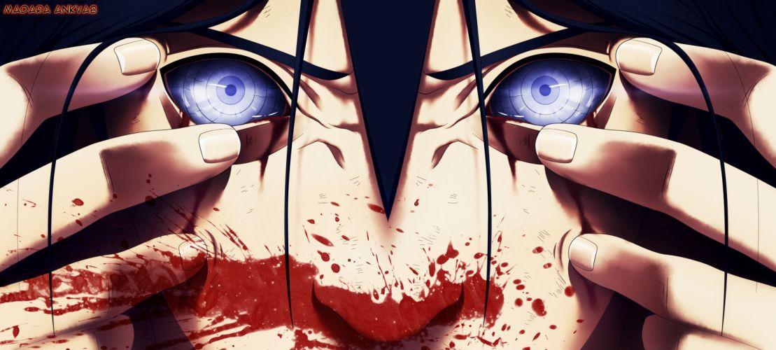 NARUTO Uchiha Madara blood dark h wallpaper