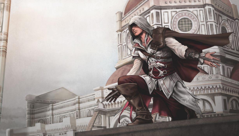 Assassins Creed 2 Warrior fantasy wallpaper