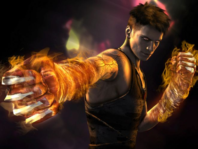 Devil May Cry Dante Men Magic Hands Games warrior dmc wallpaper