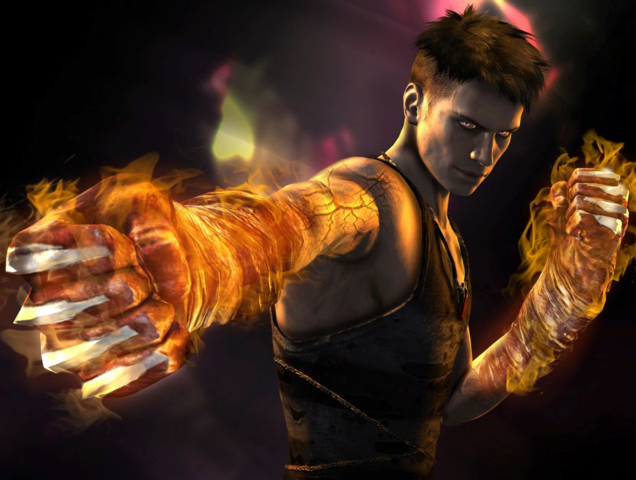 Devil May Cry Dante Men Magic Hands Games warrior dmc wallpaper