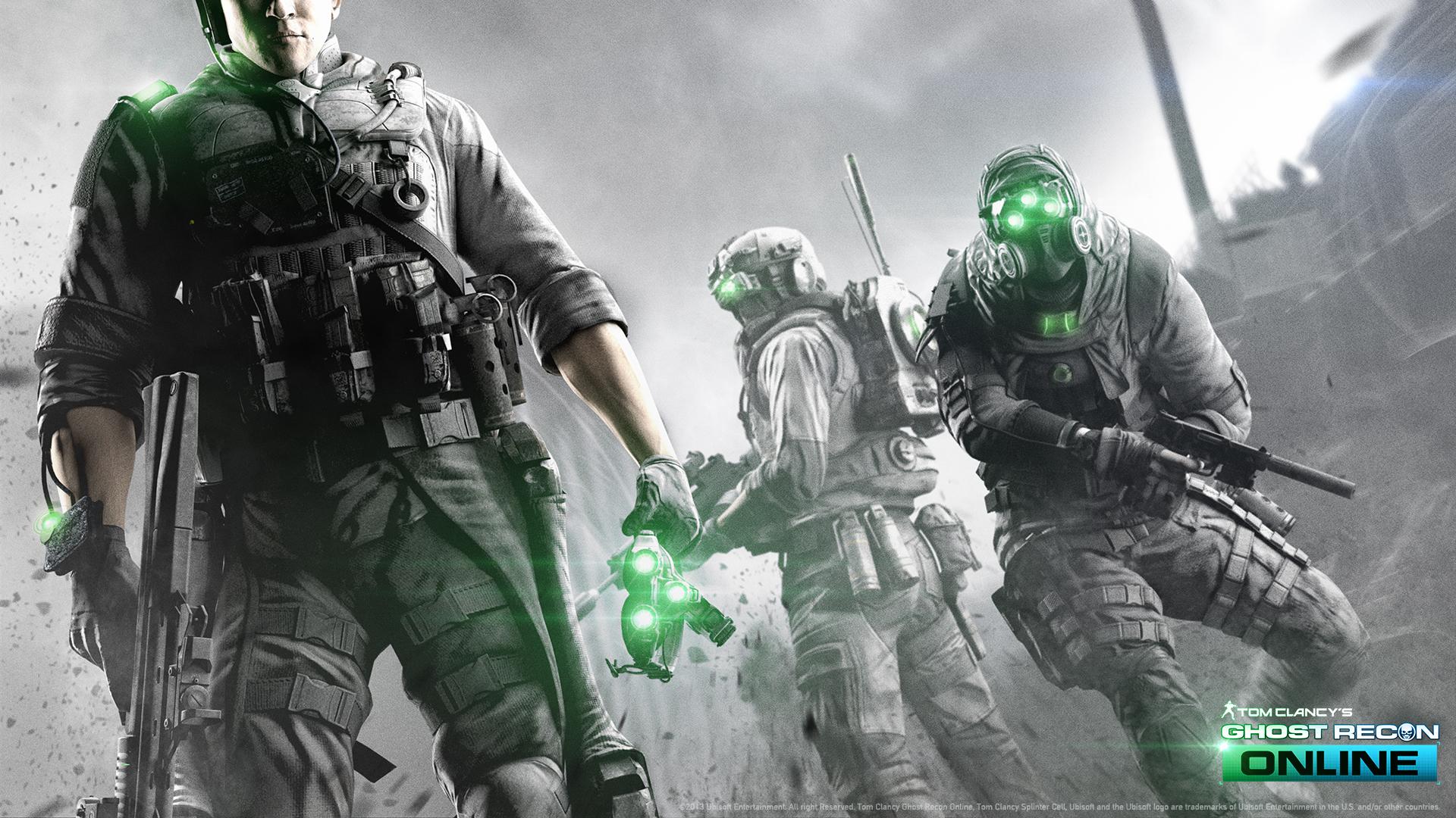 ghost recon warrior online gas mask scifi f wallpaper