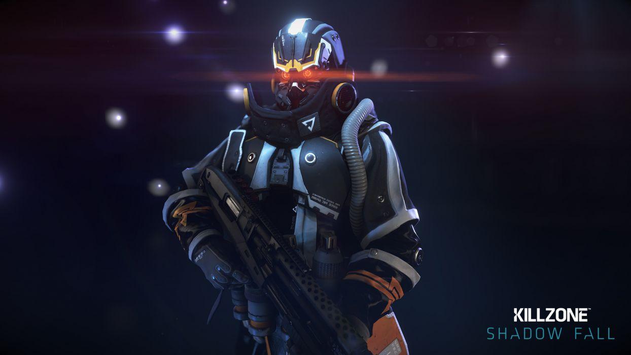 Killzone Warrior Armor Games 3D Graphics sci-fi wallpaper