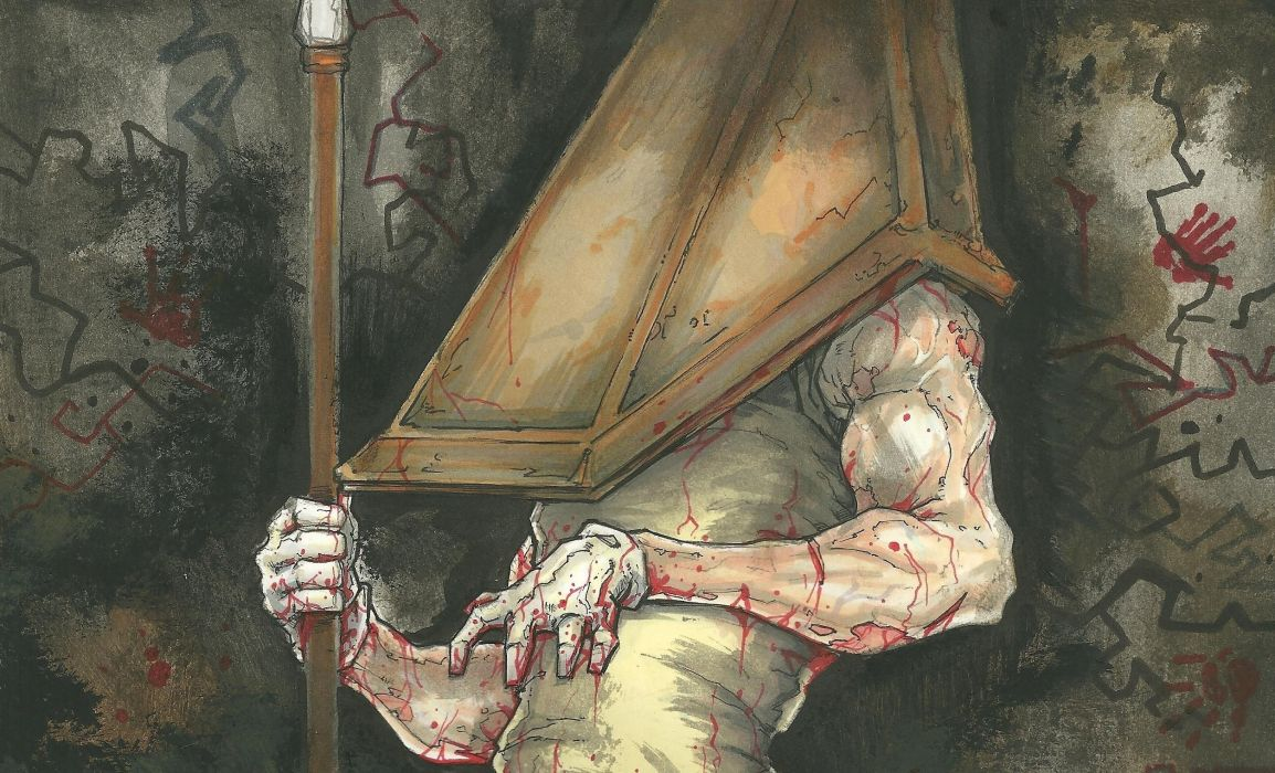 Silent Hill Monster Games Fantasy blood dark wallpaper