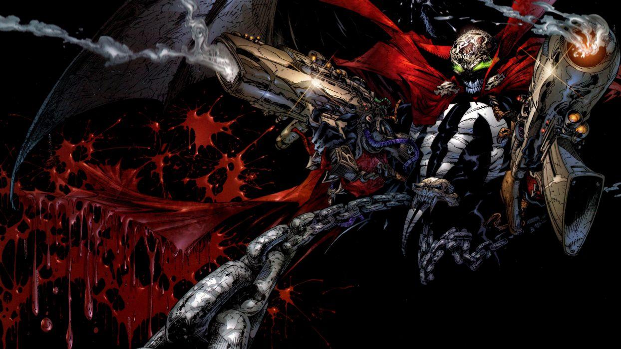 spawn Heroes comics Monster wallpaper