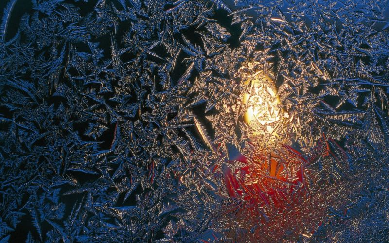 glass ice candle window winter bokeh f wallpaper