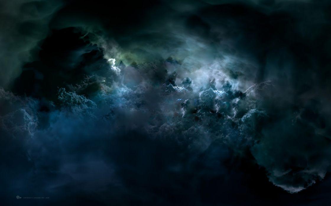 Scientific planet nebula cloud hd black wallpaper wallpaper