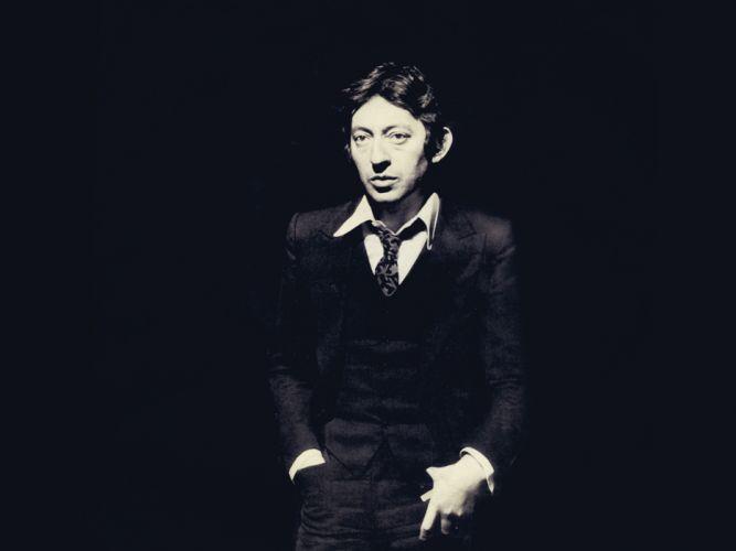 singers actors Serge Gainsbourg wallpaper