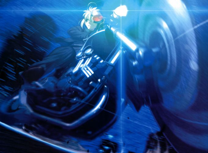 Type-Moon vehicles Saber motorbikes Fate/Zero Fate series wallpaper