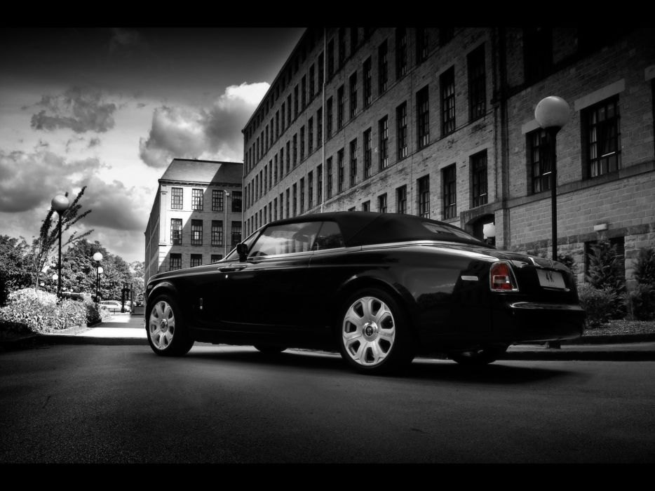 project coupe Rolls Royce Rolls Royce Phantom wallpaper