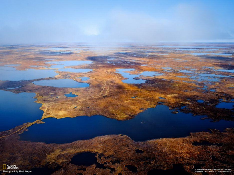 landscapes nature Alaska National Geographic Delta tundra wallpaper
