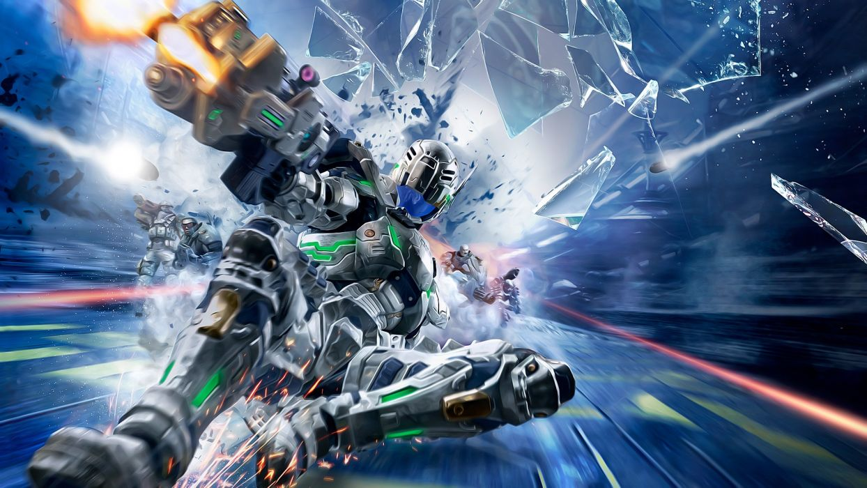 video games Vanquish wallpaper