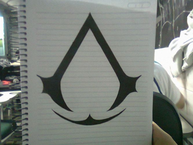 Assassins Creed drawings school time wallpaper