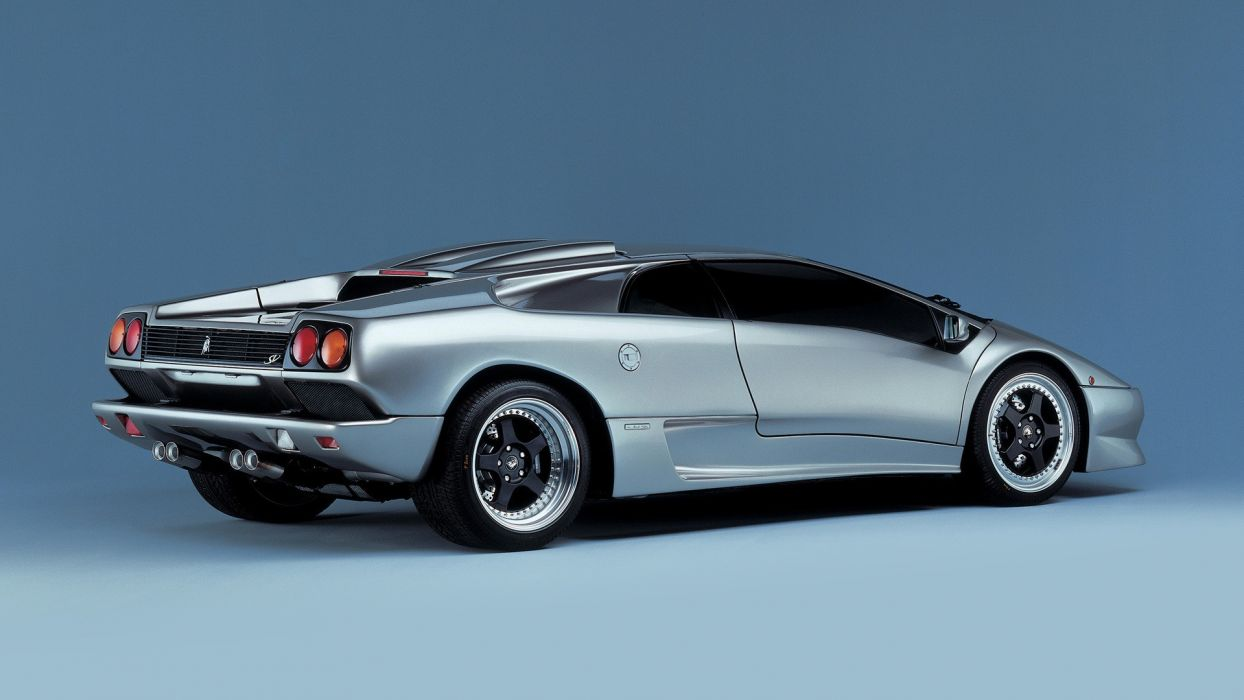 cars sports Lamborghini silver Italian supercars Lamborghini Diablo luxury sport cars luxury Superveloce italian cars wallpaper