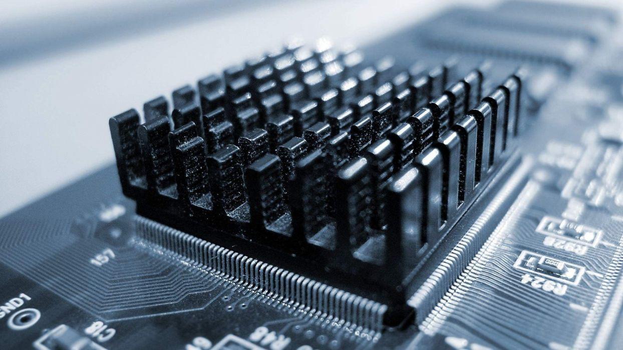 computers electronics macro chips integrated circuit heatsinks processor wallpaper