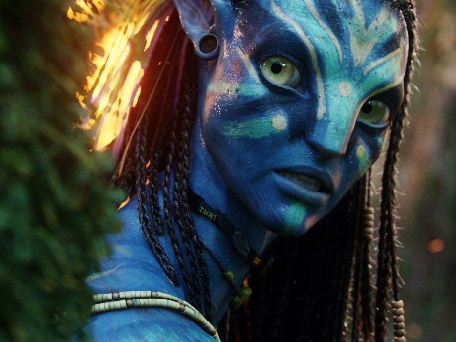 movies Avatar Zoe Saldana James Cameron wallpaper