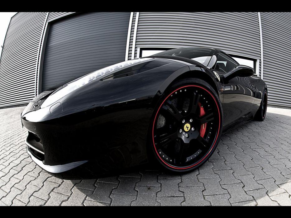 cars Ferrari front Italian supercars Ferrari 458 Italia tuning rims sports cars Wheelsandmore wallpaper