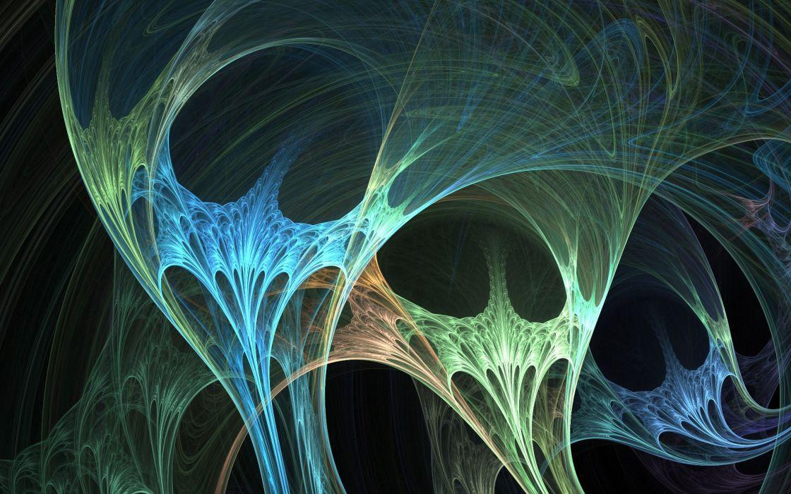 abstract futuristic wallpaper