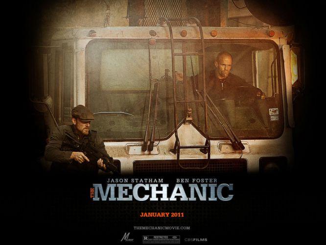 movies The Mechanic wallpaper