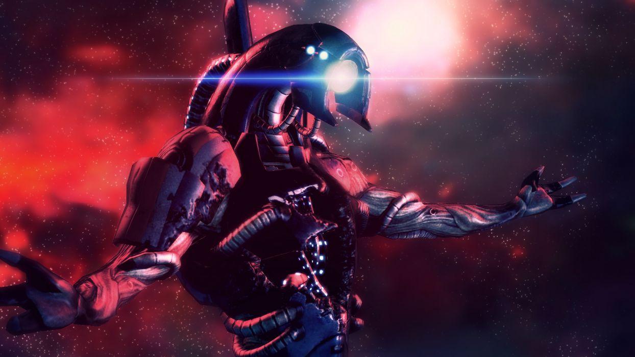 legion Mass Effect Legion (Mass Effect) wallpaper
