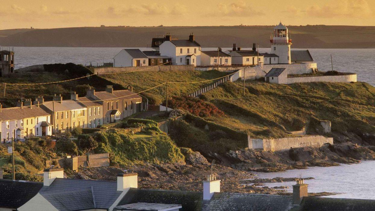 point Ireland lighthouses wallpaper