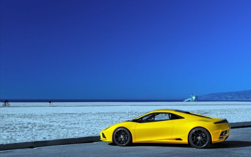 water cars Lotus beaches wallpaper