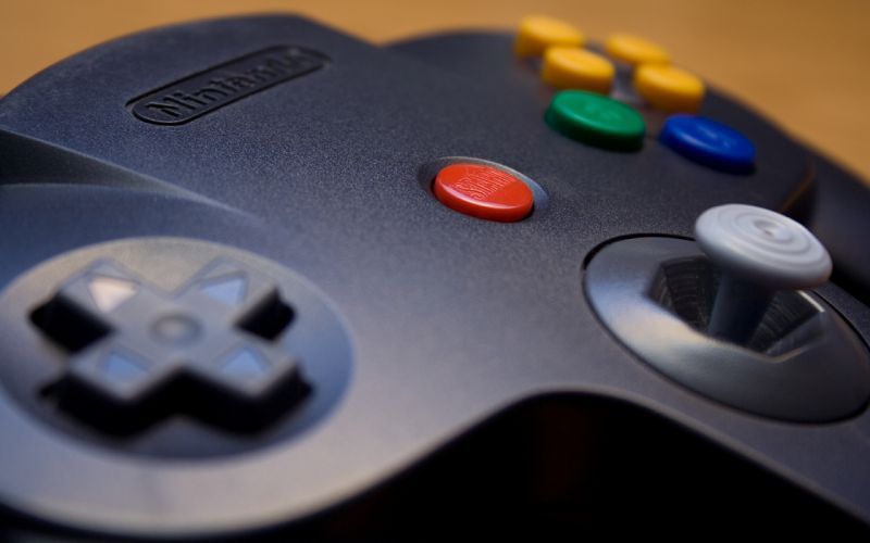 Nintendo controllers Nintendo 64 wallpaper
