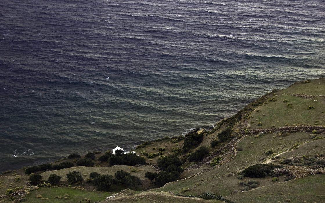 landscapes nature coast sea wallpaper